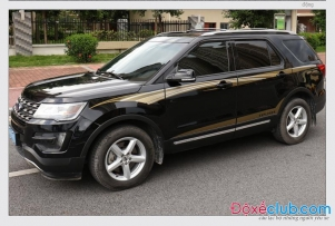 Team xe  Ford Explorer 2018